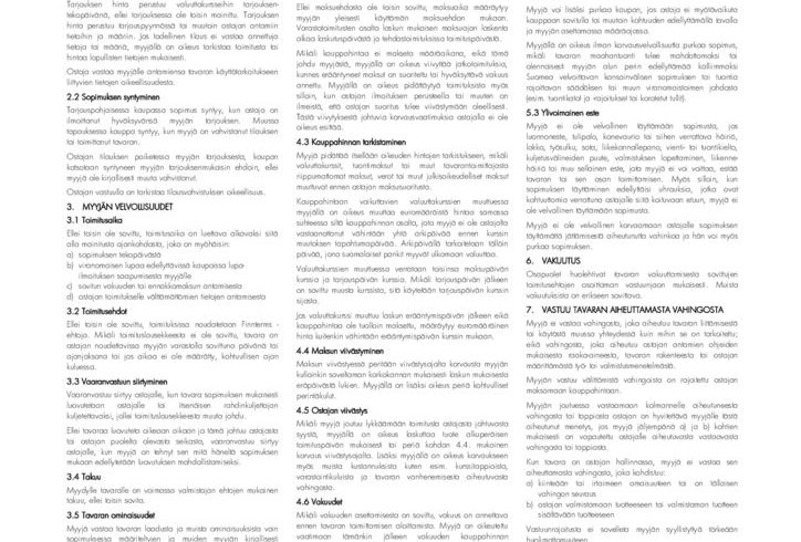 thumbnail of Teknisen Kaupan yleiset myyntiehdot TK Yleiset 2010